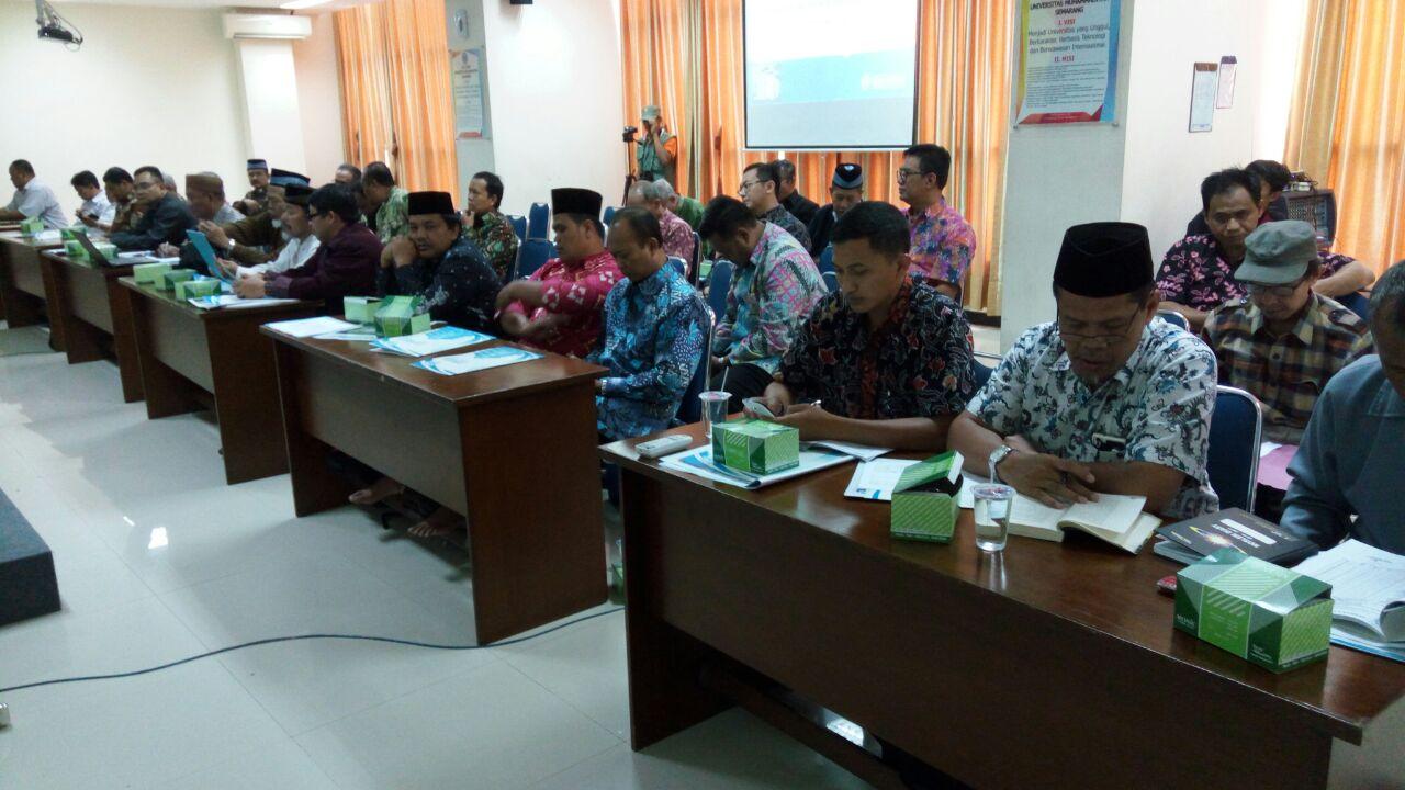 Peserta Rakor Majelis dan Lembaga PW.Muhammadiyah Jawa Tengah