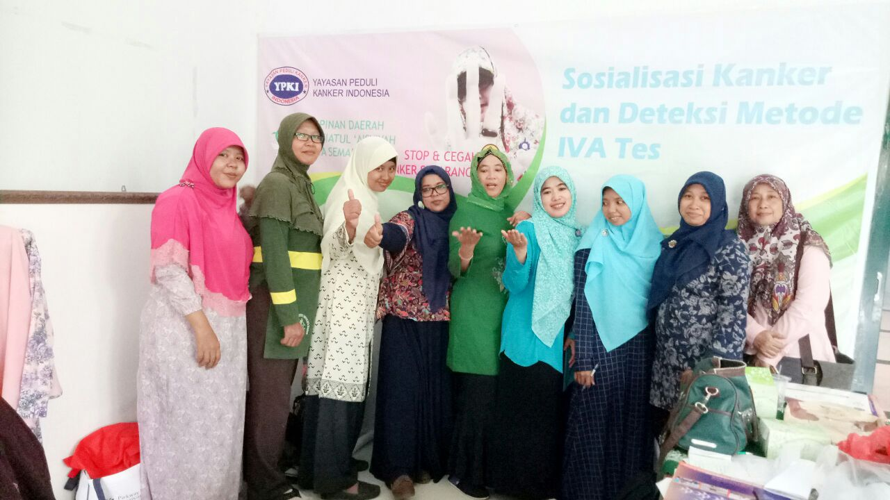 Panitia Sosialisasi Cegah dan Deteksi Kanker
