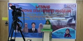 4 DOSEN FMIPA UNIMUS MENGAJAR DI UPSY MALAYSIA MELALUI KULIAH ONLINE