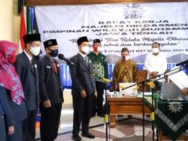 Majelis Dikdasmen Lantik FKKS SD/MI Muhammadiyah Jateng