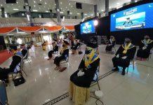 UMP Wisuda Daring Lewat TV Digital Komunitas