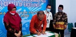 Work Shop Dan Sosialisai Penyusunan Dokumen Pembelajaran Pada SMK COE SMK Muhammadiyah Salaman Tahun 2020