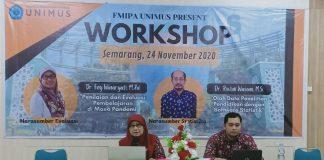 FMIPA Unimus Gelar workshop asessment Abad 21