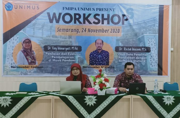 FMIPA Unimus Gelar workshop asessment Abad 21