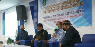 Peningkatan Mutu Pembelajaran Lewat Workshop SMK CoE di SMK Muhammadiyah 1 Semarang