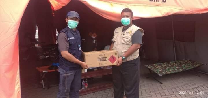 MCCC Jateng Distribusikan 1.288 karton Handsanitizer