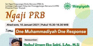 MDMC dan LLHPB Satu Komando OMOR (One Muhammadiyah One Response)
