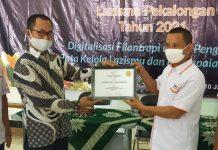 Lazismu Kabupaten Pekalongan Raih Penghargaan Program Kemanusiaan Terbaik Nasional