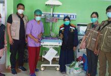 Dokter Ribkhi sebelum operasi caesar (Berita MDMC))